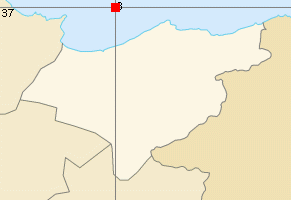 El Tarf map