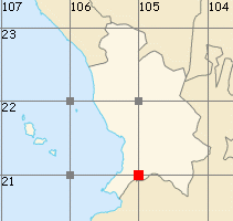 Nayarit map