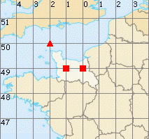 Basse-Normandie map