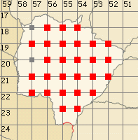 Mato Grosso do Sul map