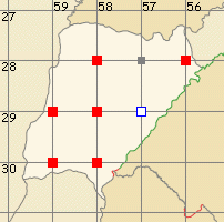 Corrientes map