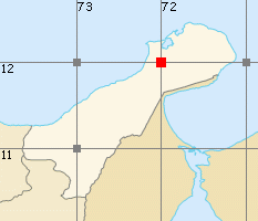 La Guajira map