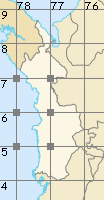 Chocó map