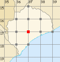 Zambézia map