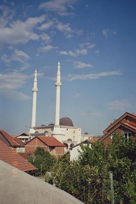 a mosque near skopje