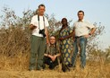 #6: Our team: Leo, Frans, Oumou, and Jean-Luc (left to right)