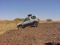 #6: The Suzuki tackling some of the off-road terrain