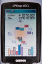 #6: GPS receiver display at the degree confluence