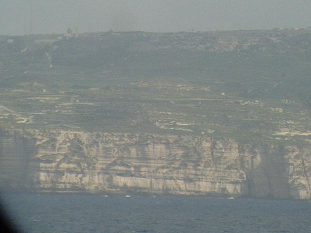 A closer look to Malta's cliffs and steep slopes