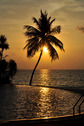#8: Pool of Vilu Reef Beach & Spa Resort at sunset