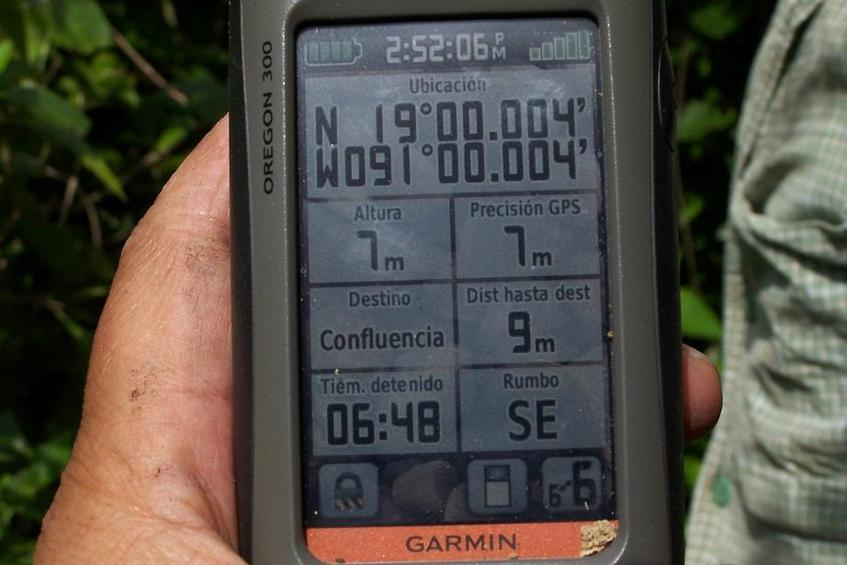 GPS con los datos requeridos(GPS with required information)
