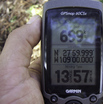 #6: GPS reading exactly at the confluence.