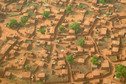 #8: Aerial view of a Hausa village in the area