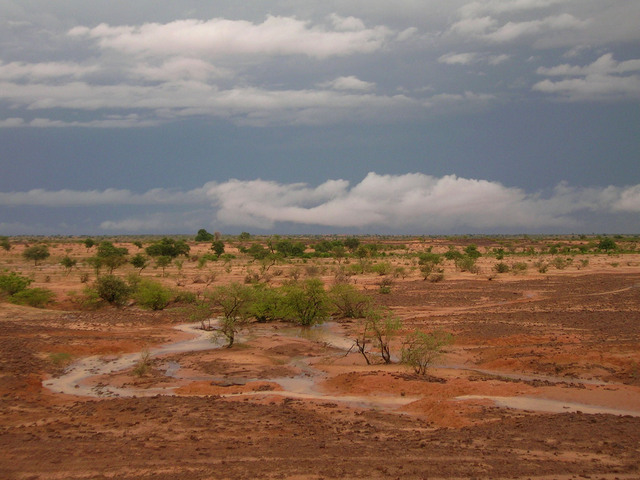 As we drove away, a rainstorm drenched the thirsty land
