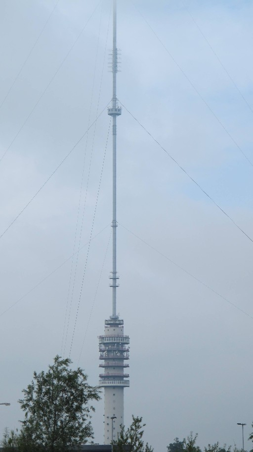 Transmitter Photographed On Way To CP