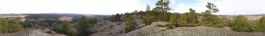 #1: 360 degree panorama taken 30 m NE of the confluence