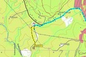 #6: Topographic map with gps track log