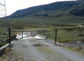 #2: The road from Breistølen is barred by this locked gate