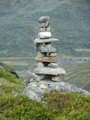 #9: DNT cairn marking the trail