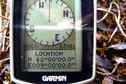 #6: The reading of the Garmin etrex summit.