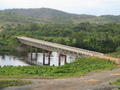 #8: bridge used in the construction of the dam over the Siuriname river