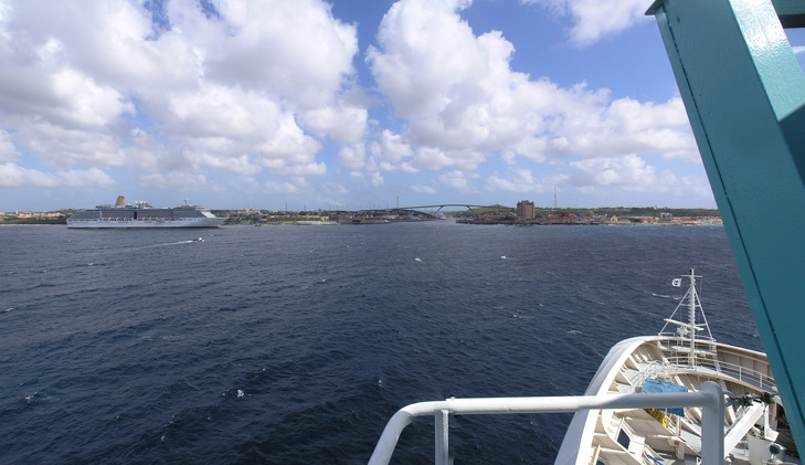 Panorama towards Willemstad
