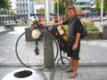 #10: English Penny Farthing Biker in Christchurch