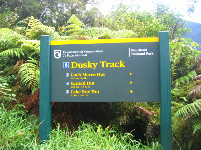 The Dusky Track