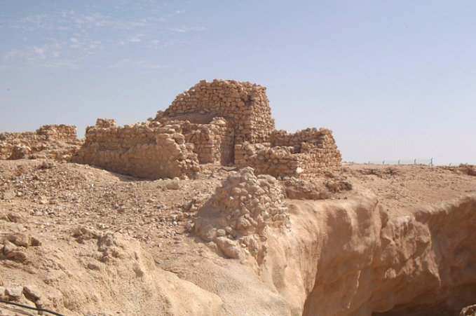 The remains of what is believed to be the Lost City of Ubar