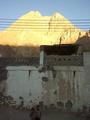 #3: Jabal Thanab in the late evening sun seen from the village Wādiy al-`Arabiyyīn.