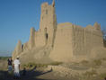 #7: The old Omani castle. It is built of mud only.