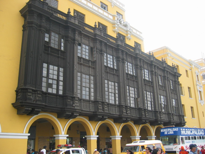 Historical Balcony in Lima