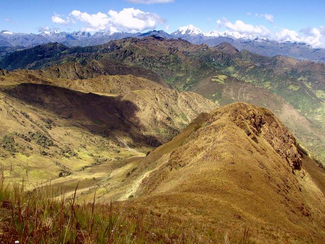 Overview of confluence and the Vilcabamba Region