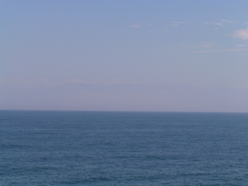 View to Northeast - mountain along the Peruvian coast