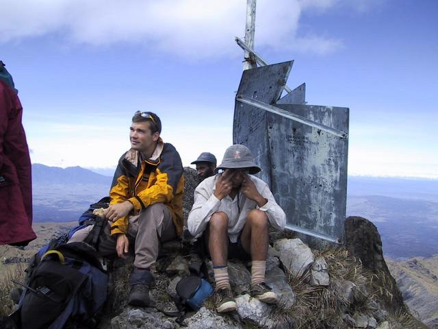 Summit of Mt. Giluwe