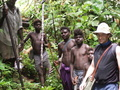 #2: Landowner John, non pidgin speaking bush boys, author