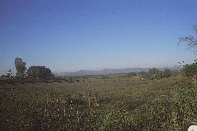 Bulacan portion of the Sierra Madre Mountain range.
