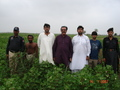 #7: Group photo at confluence point including land owner excluding me