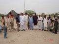 #9: Group with Tehsidar sb,his staff and local villagers at Ranahu