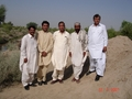 #6: Jamil,Khalid,Myself,Local villager and Jabbar