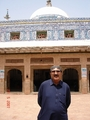 #8: Mr Kasim in front of Kawaja Ghulam Farid tomb