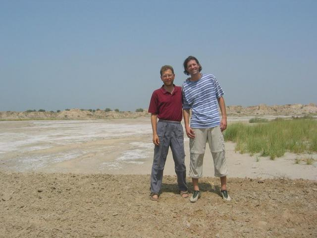 Joko and Rainer at the Confluence