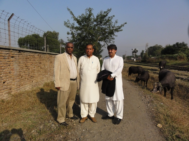 Myself with Mr Rana and Tanveer