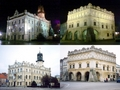 #9: Jarosław at night and day - Town Hall (left) and Orsettis' House (rigth)