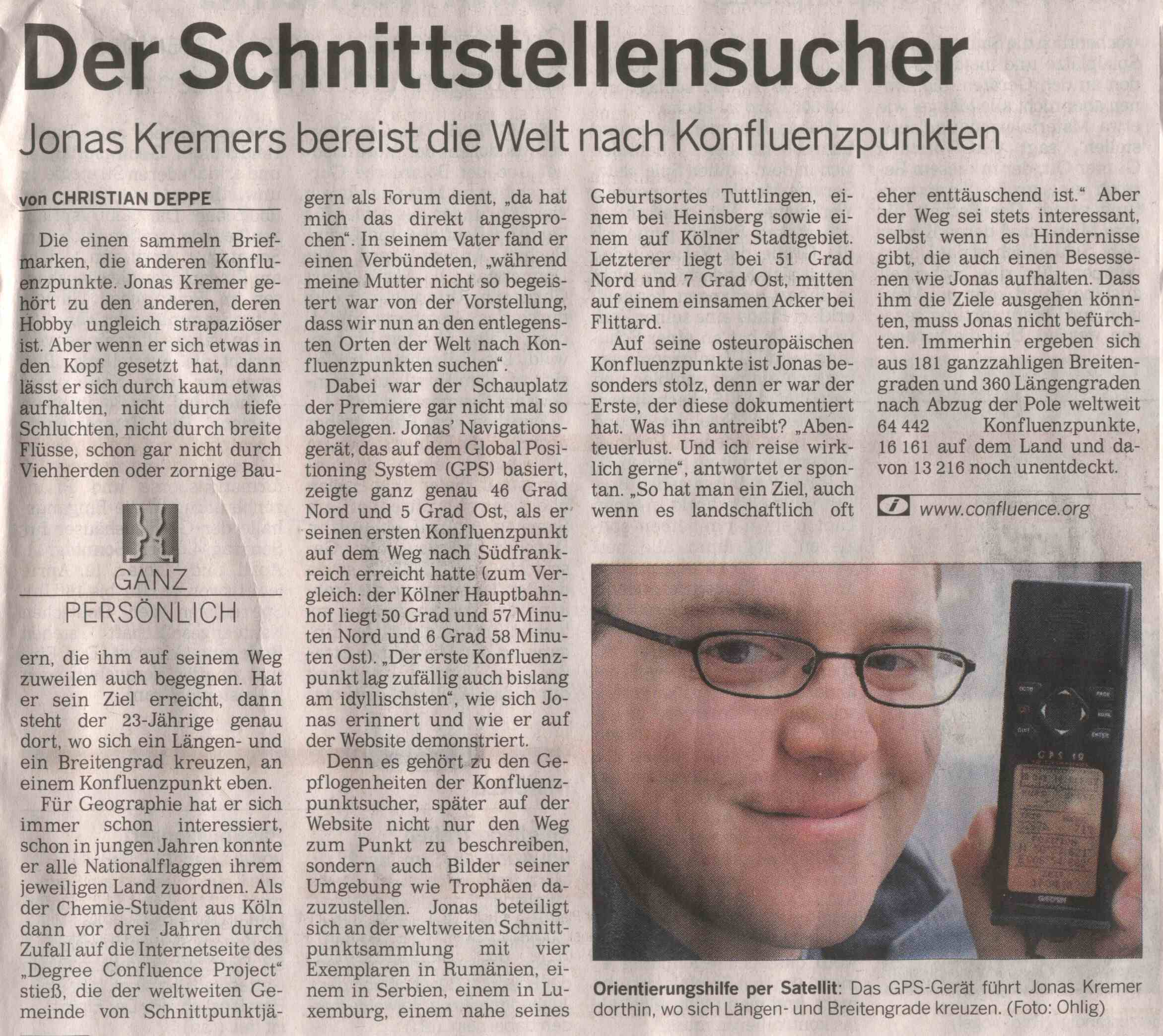 K�lnische Rundschau article
