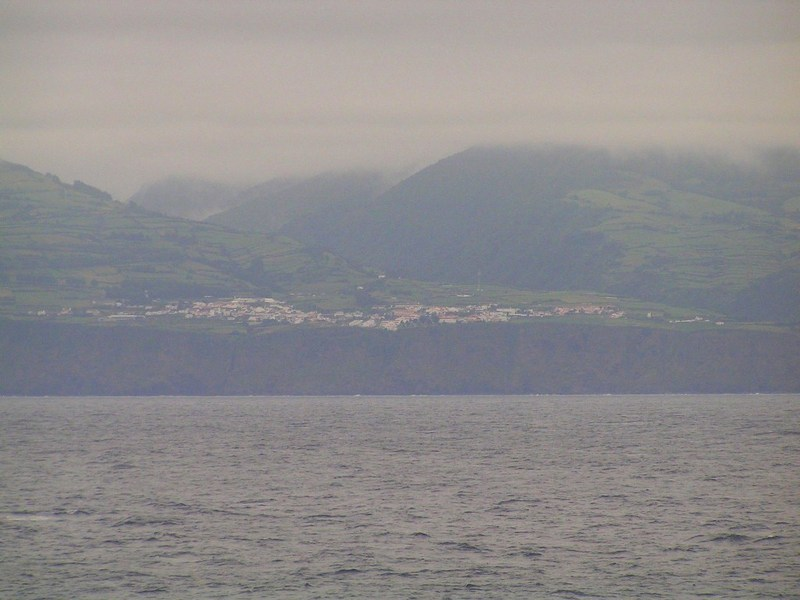 Village near Ponta da Ribeira, seen from the Confluence