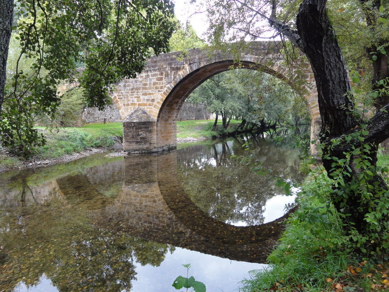 Medieval bridge in Gois