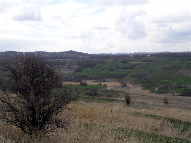 View the Stavropol uphill