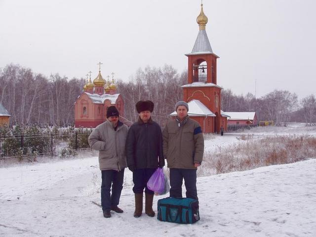 Visiting of an orthodox female monastery.