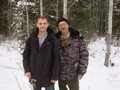 #6: Антон и Алексей на просеке / Anton and Alexey on loggers' path